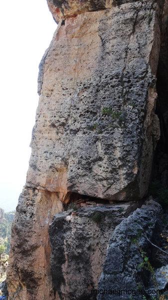 Rock Climbing Photo: Creepy Ass Cracker.