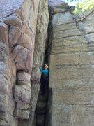 Rock Climbing Photo: Julianna Johnson tackles her first real life rock ...