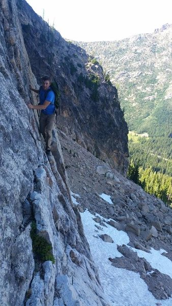 5.4 approach to Liberty Crack in Washington Pass