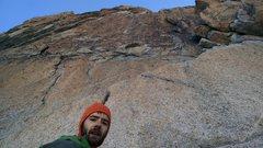 Rock Climbing Photo: Base of pitch 1.