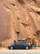 Rock Climbing Photo: Prius under Wrath