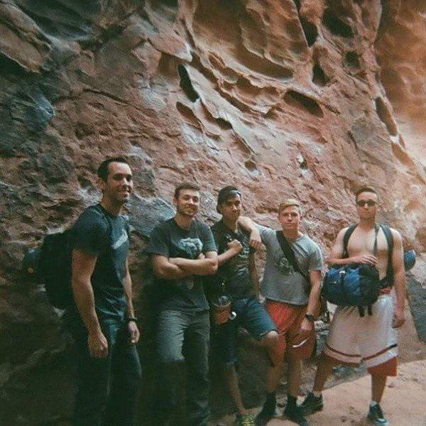 Rock Climbing Photo: The spring climbing crew