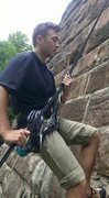 Rock Climbing Photo: Manchester bridge while living in Virginia for the...