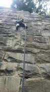 Rock Climbing Photo: Granite slab anyone?