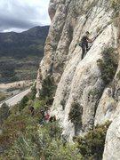 Rock Climbing Photo: Starter crag over in Charleston