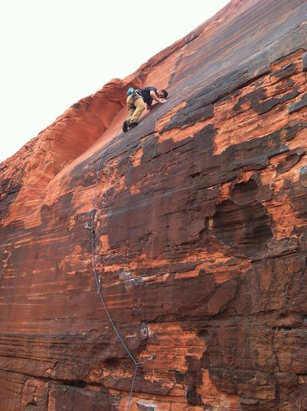 Rock Climbing Photo: J Wall in Red Rock