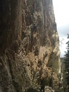 Rock Climbing Photo: Robber Roost beautiful limestone