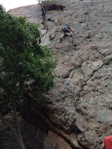 Rock Climbing Photo: Error of Our Ways. September 2015.