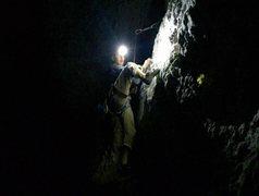 Rock Climbing Photo: Night Climbing on Volk Heckmann