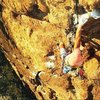 Dave Griffith on Makunaima (5.11c), Cold Springs Dome 