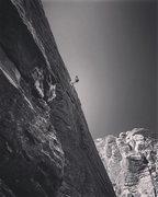 "Rock Climbing Photo: Rapping ""Sensuous Mortician"" 5.9 (Trad) ..."