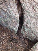 Rock Climbing Photo: #4 crack