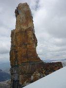 Rock Climbing Photo: Normal Route (beta) - Púlpito del Diablo The rout...
