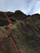 Rock Climbing Photo: This is the line for My Daily Shame.