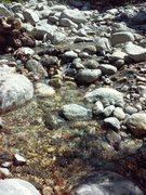 Rock Climbing Photo: Mill Creek, Thurman Flat