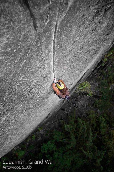 Arrowroot, 5.10b<br> Squamish, BC