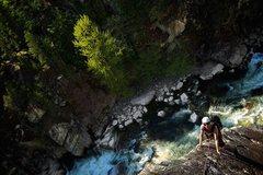 Rock Climbing Photo: Star Chek, 5.9 Squamish, BC