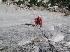 Rock Climbing Photo: Dave Mahler on Pedestal Center.