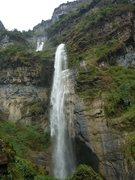 Rock Climbing Photo: the bottom of the three falls