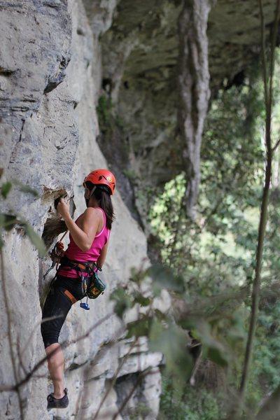 Rock Climbing Photo: climb on