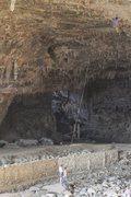 Rock Climbing Photo: Ventanas cave