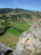 Rock Climbing Photo: Suesca highlining