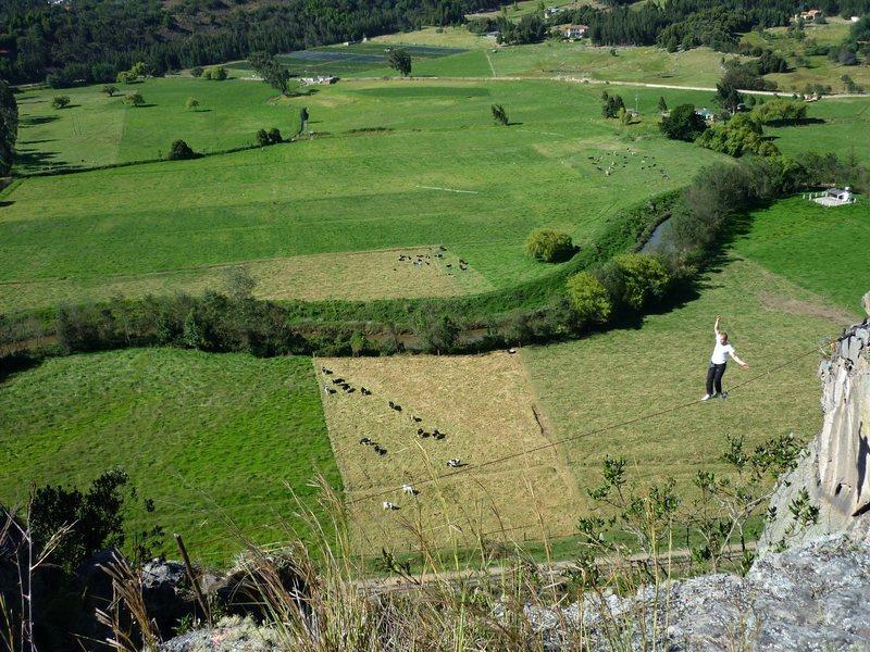Suesca highlining