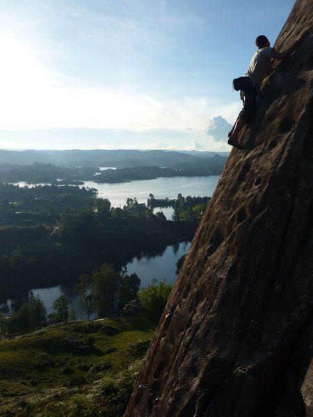 Rock Climbing Photo: Guatapé