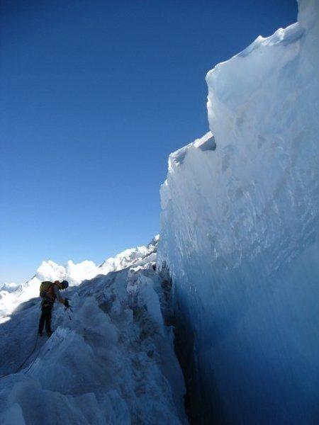 Rock Climbing Photo: Hotlum/Bolem Glacier Mt. Shasta