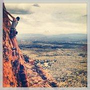 Rock Climbing Photo: Snow Canyon