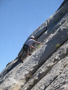 Rock Climbing Photo: Dave Mahler climbing Garden Party.