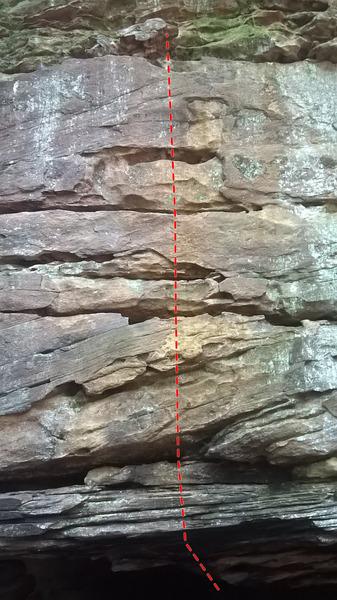 Rock Climbing Photo: Sparky