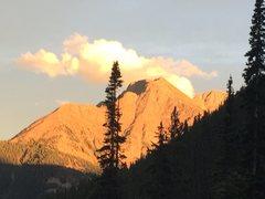Rock Climbing Photo: North Twilight in full glory.