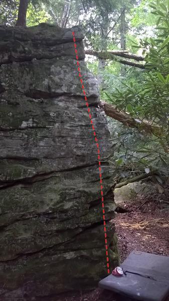Rock Climbing Photo: Go Dog Go
