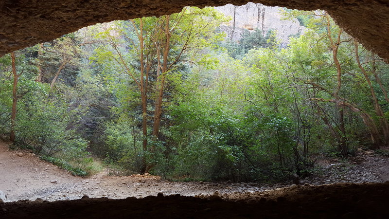 Rock Climbing Photo: low std cave