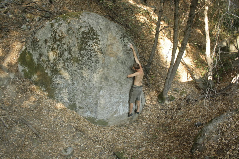 Ben Blair Starting the Mo-Fo V0.