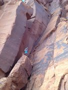 Rock Climbing Photo: Drop the ropes all the way down from the belay led...