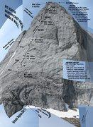 Rock Climbing Photo: The original topo