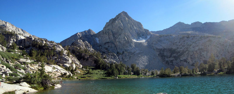 Rock Climbing Photo: View south from Lower Treasure Lakes - probably th...