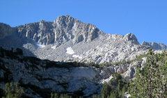 Rock Climbing Photo: Northwest Ridge is the right skyline.
