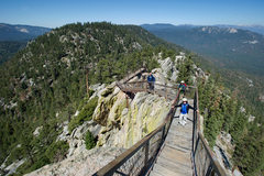 Rock Climbing Photo: Stairs up to the top of the Magician are an archit...