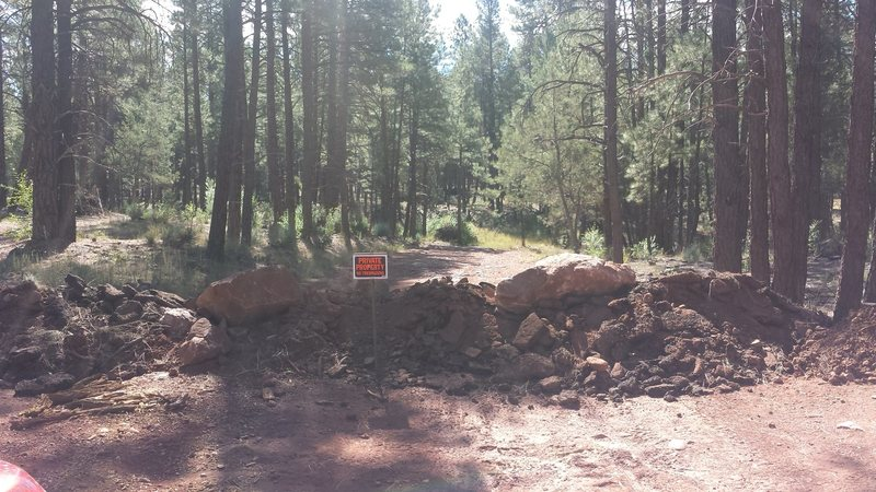 Isolation canyon access