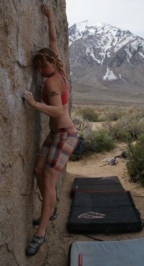 Rock Climbing Photo: Bishop, the buttermilks
