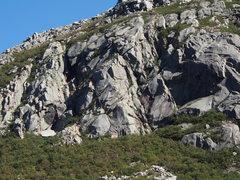 "Rock Climbing Photo: Modern Digital Photo, ""Diamond Area"", Se..."