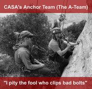 Rock Climbing Photo: CASA A-Team