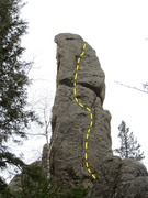 Rock Climbing Photo: Idle Hands is the Devil's favorite route.