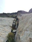 Rock Climbing Photo: Start of Left North Books