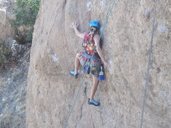 Rock Climbing Photo: Capt. Morgan