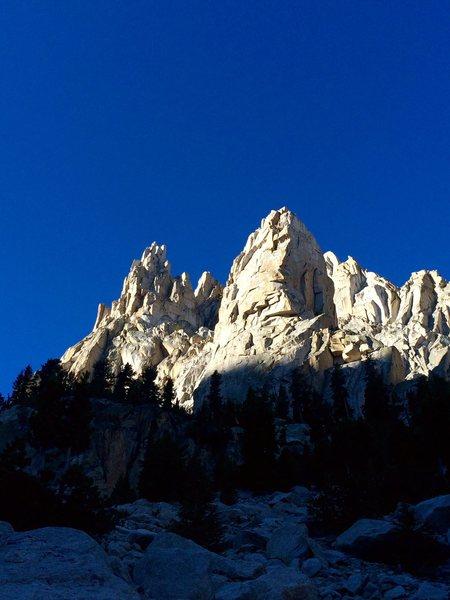Rock Climbing Photo: Outguard Spire