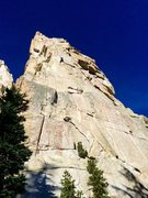 Rock Climbing Photo: The East Face of Outguard Spire